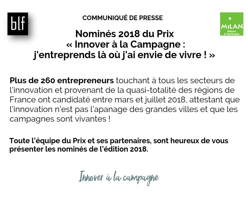 Actualités - nominés 2018